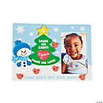 """Share His Light And Love"" Snowman Photo Magnet Craft Kit"
