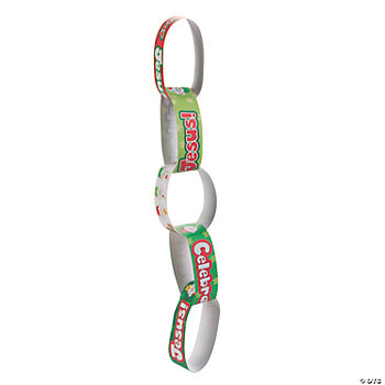 """Happy Birthday Jesus!"" Paper Chain Craft Kit"
