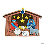 Christmas Manger Jumbo Shapes