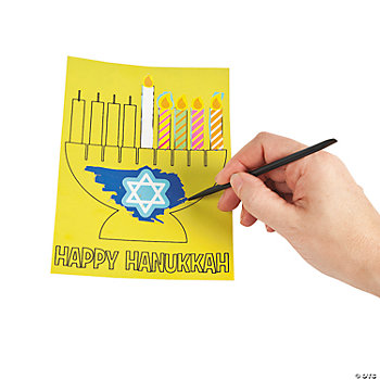 Scratch 'N Reveal Hanukkah Scenes