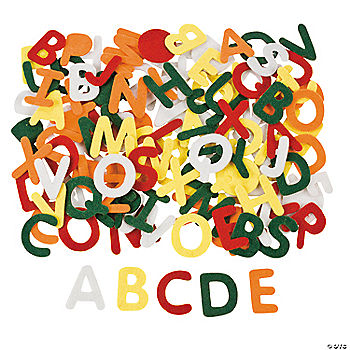 selfadhesive alphabet oriental trading discontinued