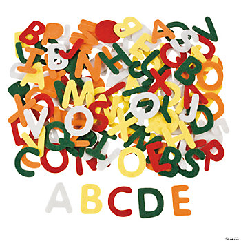Self-Adhesive Alphabet