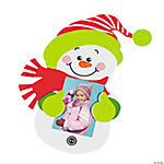 Snowman Photo Holder Magnets