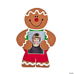 Gingerbread Photo Holder Magnets