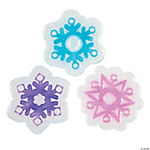 Snowflake Clear Gel Sun Catchers