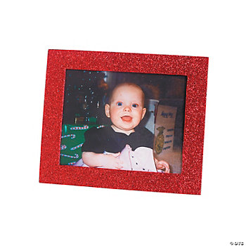 Christmas Glitter Photo Frames