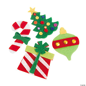 Self-Adhesive Christmas Shapes