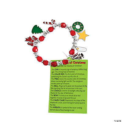 """Symbols of Christmas"" Charm Bracelet Craft Kit"