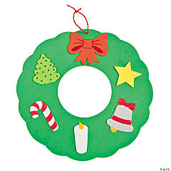 Symbols Of Christmas Wreath Craft Kit