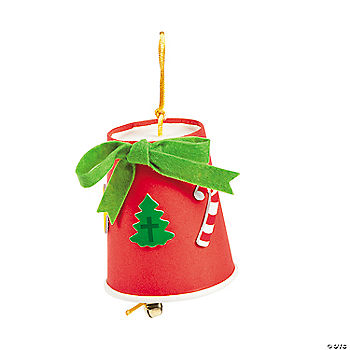 Symbols of Christmas Bell Craft Kit - Oriental Trading - Discontinued