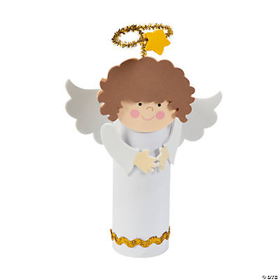 Angel Paper Roll Craft Kit