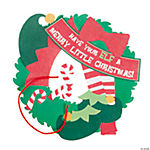 Elf Wreath Christmas Craft Kit
