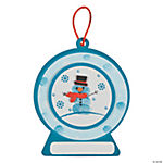 Thumbprint Snowman Ornament Craft Kit