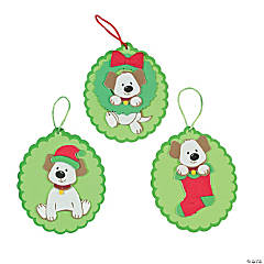 Puppy Christmas Ornament Craft Kit