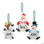 Character Snowflake Ornament Craft Kit