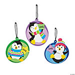 """2012"" Penguin Ornament Craft Kit"
