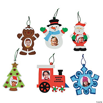 Christmas Photo Frame Ornament Craft Kit