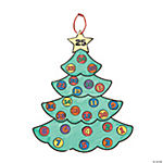 Color Your Own Advent Christmas Tree Calendars