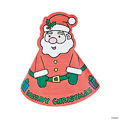 Color Your Own Santa Stand-Ups