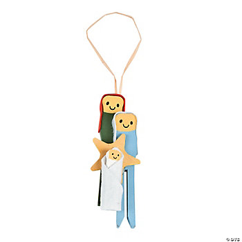Nativity Clothespin Ornament Craft Kit