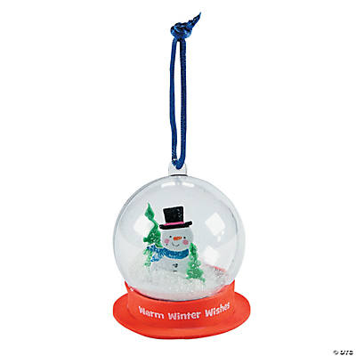 Snowglobe Christmas Ornament Craft Kit