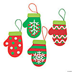 Christmas Mitten Ornament Craft Kit