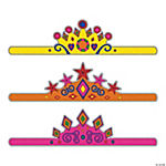 Color Your Own Tiaras