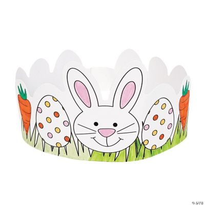Color Your Own Easter Crowns