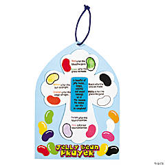 Fingerprint Jelly Bean Prayer Craft Kit