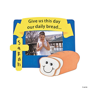 """Daily Bread"" Photo Frame Magnet Craft Kit"