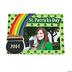 2013 St. Patrick's Day Photo Frame Magnet Craft Kit