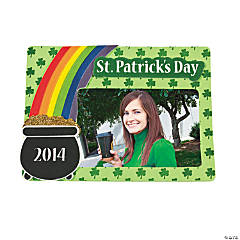 2014 St. Patrick's Day Picture Frame Magnet Craft Kit