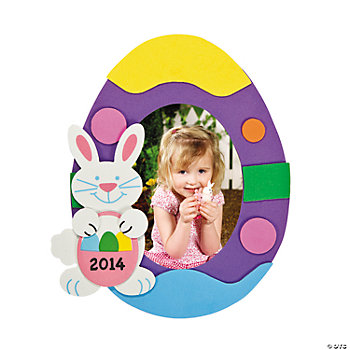 2013 Easter Photo Frame Magnet Craft Kit