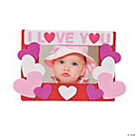 """I Love You"" Photo Frame Magnet Craft Kit"