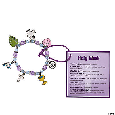 """Holy Week"" Bracelet Craft Kit"