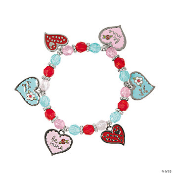 Valentine Sugar Cookie Charm Bracelet Craft Kit