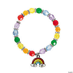 Rainbow Charm Bracelet Craft Kit