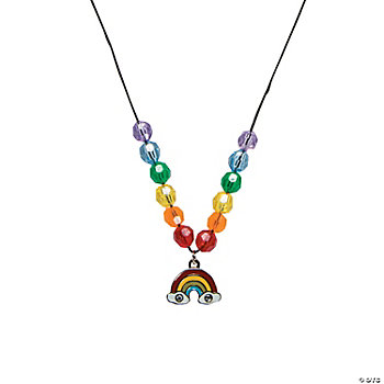 Rainbow Charm Necklace Craft Kit