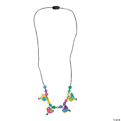 Spring Bird Charm Necklace Craft Kit