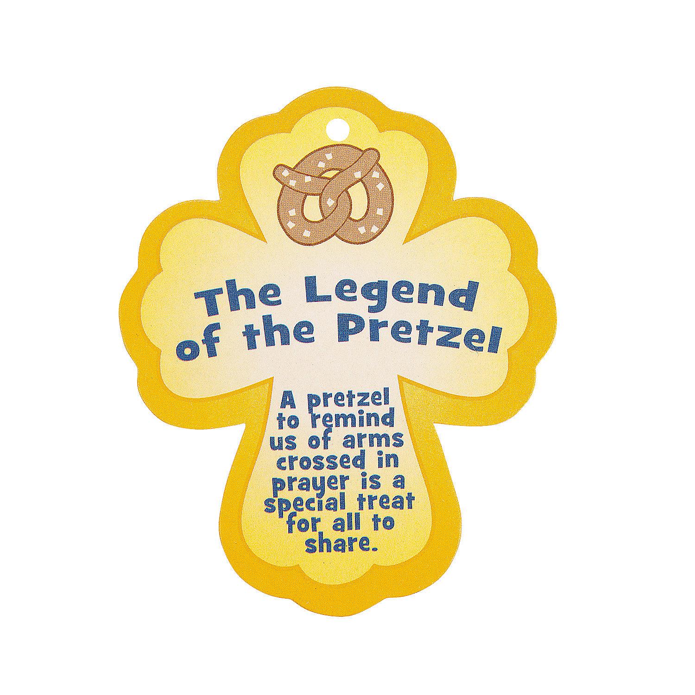 "... Legend of the Pretzel"" Lent Ornament Craft Kit - Oriental Trading"