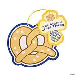 """The Legend of the Pretzel"" Lent Ornament Craft Kit"