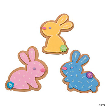Easter Bunny Sugar Cookie Magnet Craft Kit