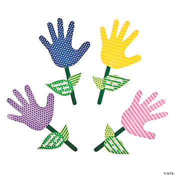Handprint Flowers For Mom Craft Kit