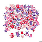 Valentine Monster Shaped Stickers