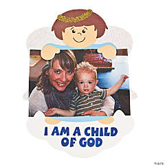 """I Am A Child Of God"" Magnet Photo Holders"