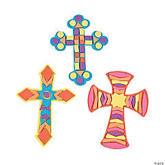 Cross Mosaic Craft Kit