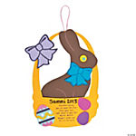 Chocolate Bunny Poem Sign Craft Kit