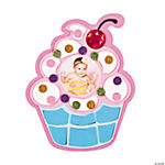 Cupcake Mosaic Photo Frame Magnet Craft Kit