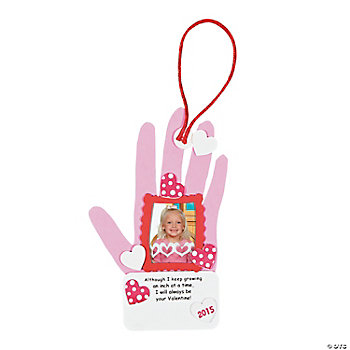2013 Valentine Handprint Photo Frame Craft Kit