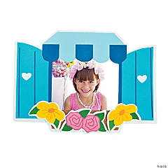 Window Picture Frame Magnet Craft Kit